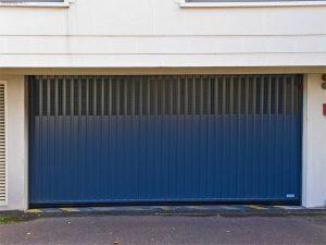 Porte de parking pour résidence
